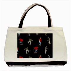 Drake Ugly Holiday Christmas Basic Tote Bag (two Sides)