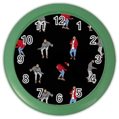 Drake Ugly Holiday Christmas Color Wall Clocks