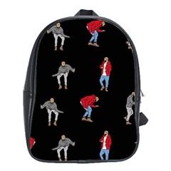 Drake Ugly Holiday Christmas School Bags(Large)