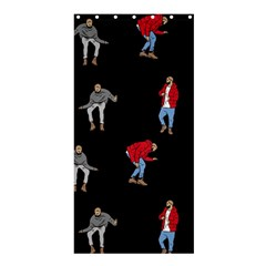Drake Ugly Holiday Christmas Shower Curtain 36  X 72  (stall)