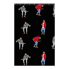 Drake Ugly Holiday Christmas Shower Curtain 48  X 72  (small)