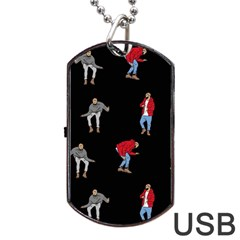 Drake Ugly Holiday Christmas Dog Tag USB Flash (Two Sides)