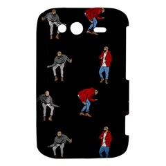 Drake Ugly Holiday Christmas HTC Wildfire S A510e Hardshell Case