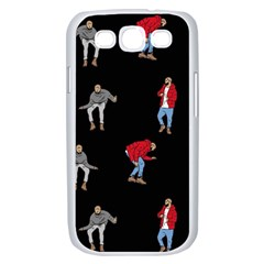 Drake Ugly Holiday Christmas Samsung Galaxy S III Case (White)