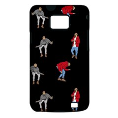 Drake Ugly Holiday Christmas Samsung Galaxy S II i9100 Hardshell Case (PC+Silicone)