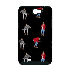 Drake Ugly Holiday Christmas Samsung Galaxy Note 2 Hardshell Case (PC+Silicone)