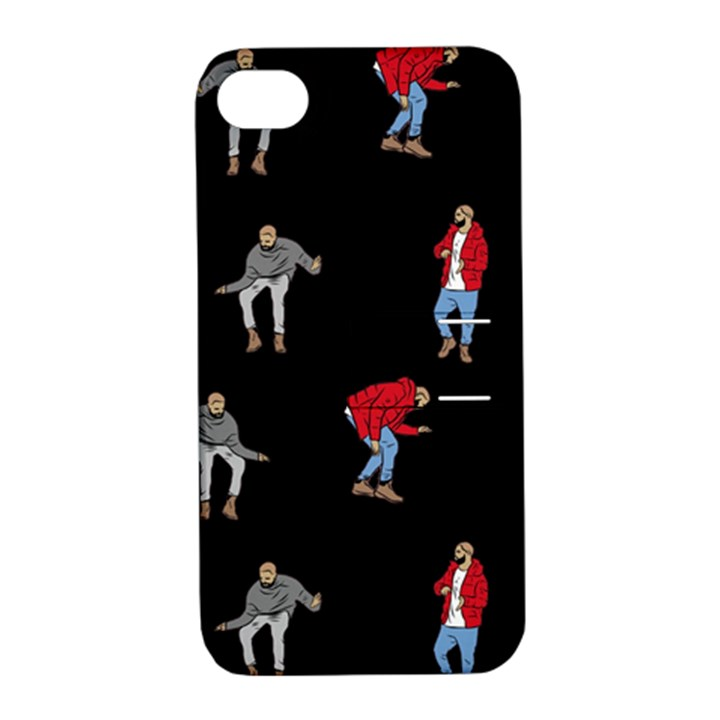 Drake Ugly Holiday Christmas Apple iPhone 4/4S Hardshell Case with Stand