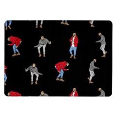 Drake Ugly Holiday Christmas Samsung Galaxy Tab 10.1  P7500 Flip Case