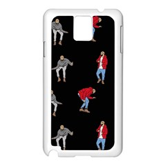 Drake Ugly Holiday Christmas Samsung Galaxy Note 3 N9005 Case (white)