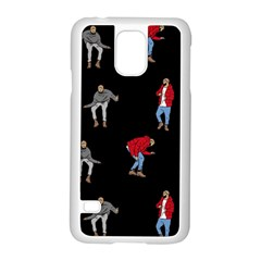 Drake Ugly Holiday Christmas Samsung Galaxy S5 Case (White)