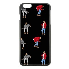 Drake Ugly Holiday Christmas Apple Iphone 6 Plus/6s Plus Black Enamel Case