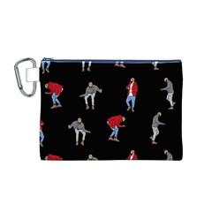 Drake Ugly Holiday Christmas Canvas Cosmetic Bag (M)