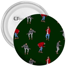 Drake Ugly Holiday Christmas 2 3  Buttons