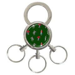 Drake Ugly Holiday Christmas 2 3 Ring Key Chains