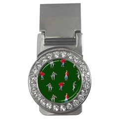 Drake Ugly Holiday Christmas 2 Money Clips (cz)