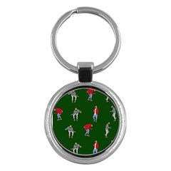 Drake Ugly Holiday Christmas 2 Key Chains (round)
