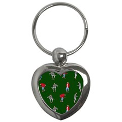 Drake Ugly Holiday Christmas 2 Key Chains (heart)