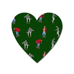 Drake Ugly Holiday Christmas 2 Heart Magnet