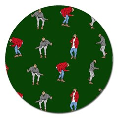 Drake Ugly Holiday Christmas 2 Magnet 5  (round)