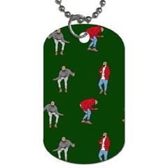 Drake Ugly Holiday Christmas 2 Dog Tag (Two Sides)