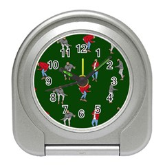 Drake Ugly Holiday Christmas 2 Travel Alarm Clocks