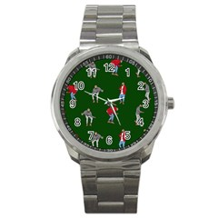 Drake Ugly Holiday Christmas 2 Sport Metal Watch