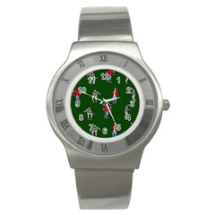 Drake Ugly Holiday Christmas 2 Stainless Steel Watch