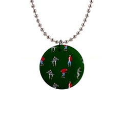 Drake Ugly Holiday Christmas 2 Button Necklaces