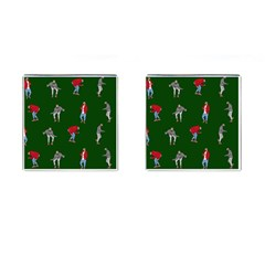 Drake Ugly Holiday Christmas 2 Cufflinks (square)