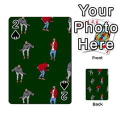 Drake Ugly Holiday Christmas 2 Playing Cards 54 Designs