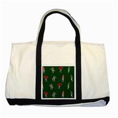 Drake Ugly Holiday Christmas 2 Two Tone Tote Bag
