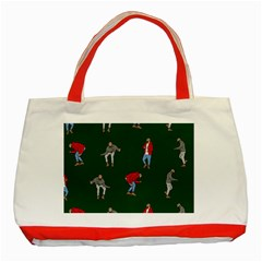Drake Ugly Holiday Christmas 2 Classic Tote Bag (Red)