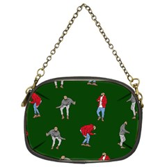 Drake Ugly Holiday Christmas 2 Chain Purses (Two Sides)