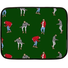 Drake Ugly Holiday Christmas 2 Fleece Blanket (Mini)