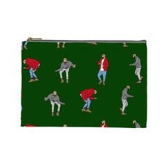 Drake Ugly Holiday Christmas 2 Cosmetic Bag (large)