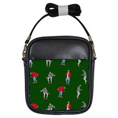 Drake Ugly Holiday Christmas 2 Girls Sling Bags