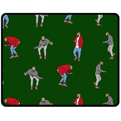 Drake Ugly Holiday Christmas 2 Fleece Blanket (medium)