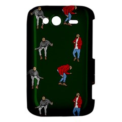 Drake Ugly Holiday Christmas 2 HTC Wildfire S A510e Hardshell Case