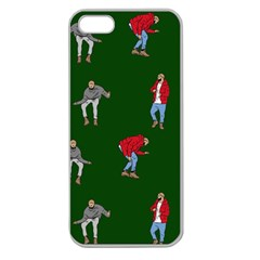 Drake Ugly Holiday Christmas 2 Apple Seamless iPhone 5 Case (Clear)