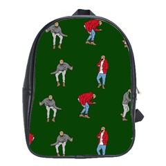 Drake Ugly Holiday Christmas 2 School Bags (XL)