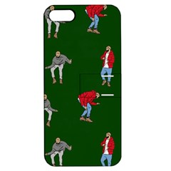 Drake Ugly Holiday Christmas 2 Apple iPhone 5 Hardshell Case with Stand