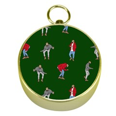 Drake Ugly Holiday Christmas 2 Gold Compasses