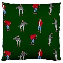 Drake Ugly Holiday Christmas 2 Standard Flano Cushion Case (Two Sides)