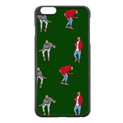 Drake Ugly Holiday Christmas 2 Apple Iphone 6 Plus/6s Plus Black Enamel Case