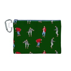 Drake Ugly Holiday Christmas 2 Canvas Cosmetic Bag (M)