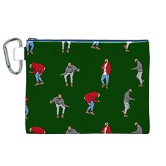 Drake Ugly Holiday Christmas 2 Canvas Cosmetic Bag (xl)