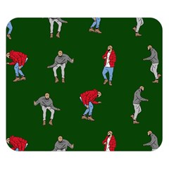 Drake Ugly Holiday Christmas 2 Double Sided Flano Blanket (Small)
