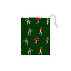 Drake Ugly Holiday Christmas 2 Drawstring Pouches (xs)