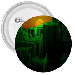 Green Building City Night 3  Buttons