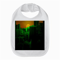 Green Building City Night Bib